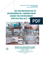 MOEF Guideline for Env Lab