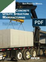 Precast Concrete Utility Structure BPM