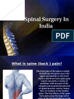 Spinal Surgery in India