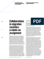 Collaborations in migration societies