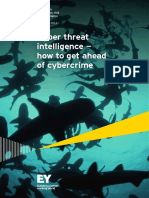 Cyber Threat Intelligence − How to Get Ahead of Cybercrime