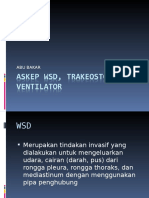 ASKEP TRAKEOSTOMY & WSD