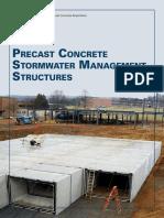 Precast Concrete Stormwater Management Technical Brochure