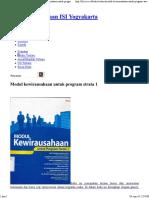 Modul Kewirausahaan Untuk Program Strata 1
