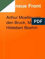 A. Moeller-van den Bruck, H. von Gleichen, M.H. Boehm