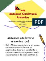 Miscarea Oscilatorie Armonica1.