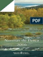 Navarra - Folleto Informativo pesca 2016