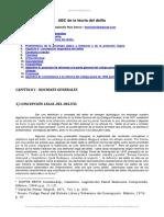 ABC de La Teoria Del Delito Alejandro Ruiz Garcia