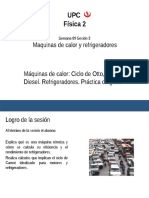 02 Diapositiva de Máquinas de Calor, El Ciclo de Otto, Ciclo Diesel. Ciclo de Carnot. Refrigeradores