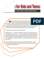 Resilience for Kids and Teens - Guide for Parents & Teachers