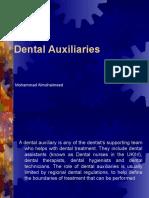 Dental Auxiliaries 1