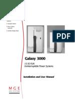 Mge Galaxy3000 10-30kva Manual