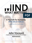 Mind What Matters Mini eBook