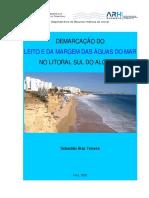 Demarcação Do Leito e Da Margem Das Águas Do Mar No Litoral Sul Do Algarve
