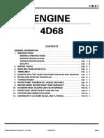 4D68 Workshop Manual