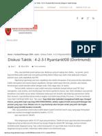 Diskusi Taktik _ 4-2-3-1 Ryantank100 (Dortmund) _ Blognya Football Manager