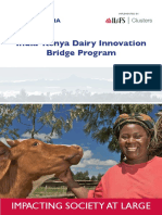 India-Kenya Dairy Innovation Bridge Program (IKDIPB)