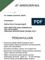 Ppt Referat Ratna Amenore Dr Dadan Spog
