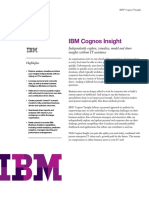IBM Cognos Insight Overview (4)