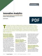 Innovative Analytics