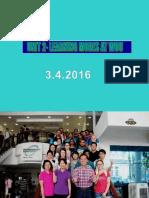 WUC Tutorial 2, April, 2016