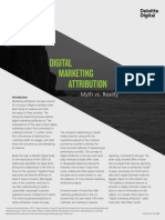 Digital Marketing Attribution - Myth vs. Reality