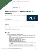 Configuring SSL for SAP Host Agent on Windows - SAP Host Agent - SAP Library