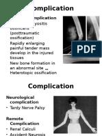 Complication Fracture