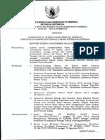 Kepmen ESDM 0129 2013 Ttg Akreditasi LSK HAKIT