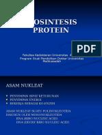 Biosintesis Protein