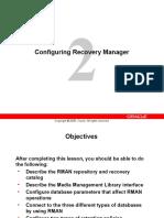 Configure Rman