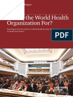 20140521 Who Health Governance Clift