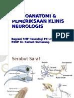Neuroanatomi Dan Pemeriksaan Klinis Neurologis
