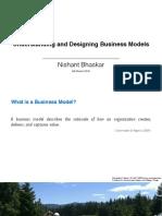 Understanding and Designing Business Models