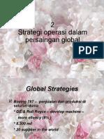2. Strategi Operasi
