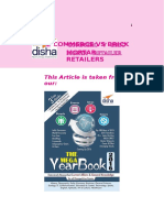 Download Free GK Study Material – E-commerce Vs. Brick & Mortar Retailers for Competitive Exams