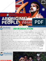 Assignment on Aboriginal People and Government