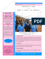 Girls Excel Donate A Pad Campaign