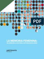 La Memoria Femenina_ Mujeres en La Historia_historia de Mujeres