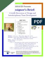 A Designer's Brief