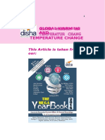 Download Free GK Study Material – Global Warming and Temperature Change Based for Competitive Exams