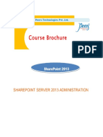 SharePointSharePoint 2013_Administration 2013 Administration