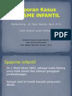 Referat SPASME INFANTIL