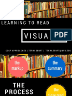 reading visually senft
