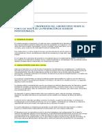 03_arquitectura e Ingeniera Del Laboratorio Desde El Punto de Vista de La Prevencin de Riesgos Profesionales