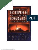 Nuevo Diccionarios de Religiones y Denominaciones Por Marco Antonio Ramos