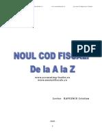 Suport Curs Noul Cod Fiscal CECCAR