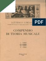 II Corso - Compendio Di Teoria Musicale - Letterio Ciriaco.pdf