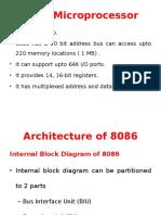Internal Block Diagram of 8086