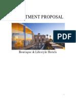 BoutiqueHotel Proposal